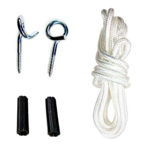 basic kit for hanging hammocks