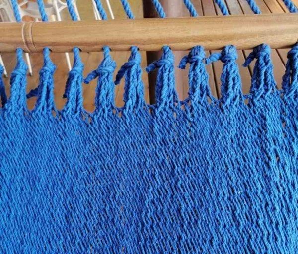Large Goldfish Blue Cotton Hammock