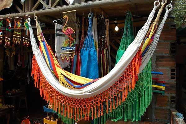 hamacas de colores colombianas