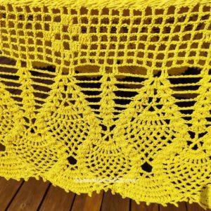vuelo de una hamaca amarilla de lujo