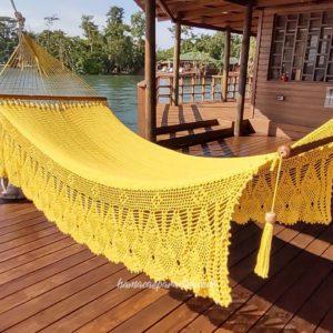 hamaca grande amarilla